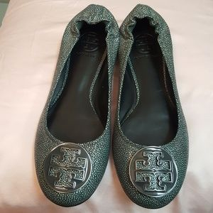 Never worn- Tory Burch Flats